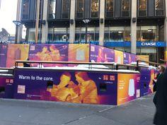 Uniqlo Warm To The Core 2016/17 Campaign Featuring Eliza Hartmann Wraps  Madison Square Garden