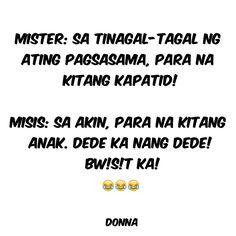 Hugot Lines Tagalog Love, Filipino Funny, Pinoy, Funny Jokes, Memes, Quotes, Santiago, Humor, Quotations