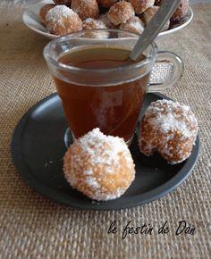 Le Festin de Dan: Castagnoles, petits beignets Italiens