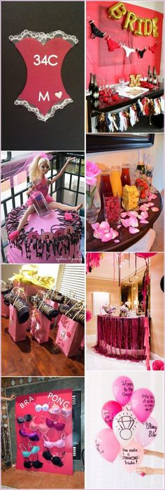 Fun bachelorette party decor ideas 57