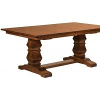 The Bradbury Trestle Table Comes Standard With A Square Top, Mission Edge  And 1 Inch
