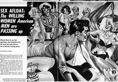 Pulp Fiction Art, Pulp Art, Adventure Magazine, Magazine Art, Medium Art, Cover Art, Erotic, American, Memes