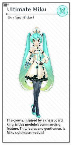 Ultimate Miku | Design: Left