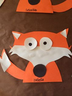 New craft animal preschool woodland Ideas Forest Animal Crafts, Forest Crafts, Animal Crafts For Kids, Forest Animals, Toddler Crafts, Desert Animals, Fox Crafts, Alphabet Crafts, Easy Crafts