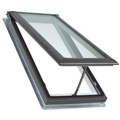 21 x 45-3/4 in. Fresh Air Venting Deck-Mount Skylight with Laminated LowE3 Glass-VS C06 2004 at The Home Depot