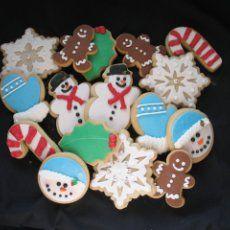 Dairy Free Christmas Cookies