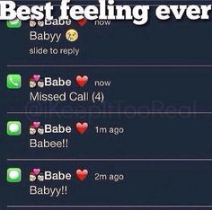 When will I get these messages...
