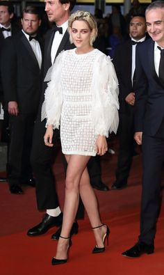 Kristen Stewart in Chanel at the premiere of Personal Shopper at the 69th annual Cannes Film Festival in Cannes, France, May 2016. Photo by Getty Images.