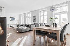 FINN – SANDVIKEN - Stor og flott 3(4)-roms selveierleilighet med egen takterrasse. Nydelig utsikt.