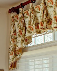 French Country Kitchen Window Curtains