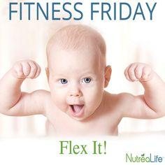 FITNESS FRIDAY  If You Got It, Flex It!   #TGIF #NutreaLife #PhotoOfTheDay #TheWeekend Embedded image permalink