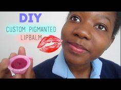 DIY Custom Pigmented Lip-balm (From Your Lipstick!) | Tanfantastic