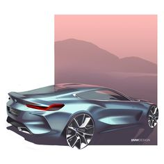 "2,290 Me gusta, 5 comentarios - Cardesign World (@cardesignworld) en Instagram: ""BMW 8 Series Concept official sketch #cardesign #car #design #carsketch #sketch #drawing #bmw…"""