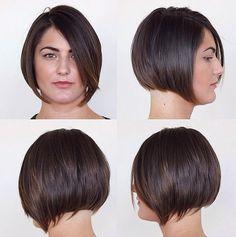 Straight Bob Haircut for Fat Women - Short Hairstyles 2015