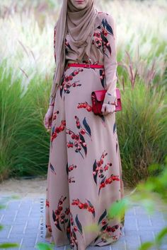 Maxi dress from Anna Hariri.