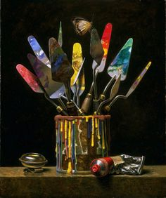 Will Wilson still life - an amazing contemporary artist.