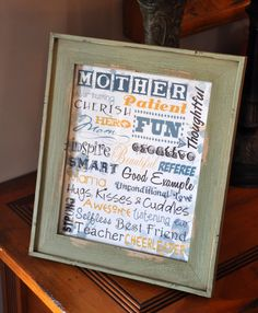 Mother's Day Printable 8x10 Subway art May by KamisDigitalCreation