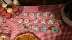 Cupcakes Laura verjaardag