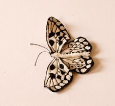 Butterfly Statement Brooch Best Selling Malabar by BlueTerracotta