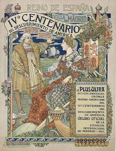Eugene Samuel Grasset  Reino de Espana (1893)