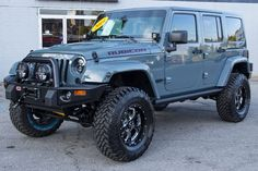 jeep wrangler unlimited anvil. I want one