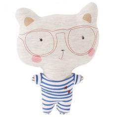 Catimini Mr Bear Soft Toy  Este oso con su look tan marinero de rayas y esas gafas nos ha conquistado.