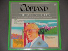 "Copland Greatest Hits - Aaron Copland - ""Fanfare for the Common Man"" - CBS Masterworks 1984 - Vintage Classical Vinyl LP Record Album"