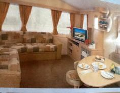 Privately owned caravans for hire at  Harlyn Sands Holiday Park Padstow Cornwall