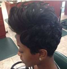 Short cut | Black Hair | i might do this as my upcoming style. I LOVE this simple cut