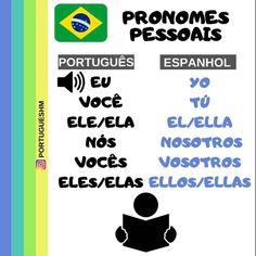 "PortuguesHM 🇧🇷 on Instagram: ""👩🏫E aí, é fácil ou difícil? Escreva nos Comentarios 🤓. . . . . . . . . .  . . . .  #portuguesparaestrangeiros #brazil #brazillian…"" Learn Brazilian Portuguese, Learning, Instagram, Spanish, Writing, The Voice, Studying, Teaching, Onderwijs"