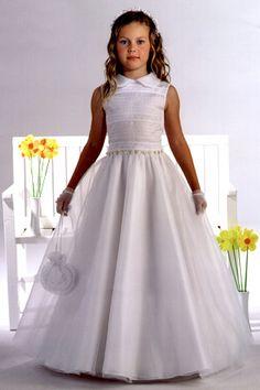 Vestidos para primera comunion ampones