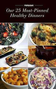 Our 25 Most-Pinned Healthy Dinners @Nicolette Simanovich @Allison Schultz