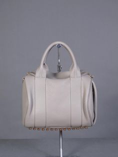 ALEXANDER WANG BAGS : ROCKIE OYSTER SOFT LEATHER