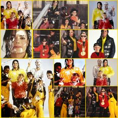 "He always loved babies and all children of the world ღ Michael & the kids for ""Black or White"" Video, 1991;) @carlamartinsmj"
