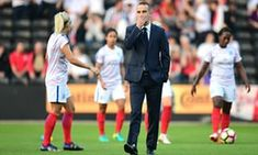 While women's football rides high in Australia, England lose their coach amid a flurry of buck-passing.