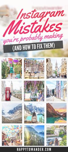 Are you making these deadly Instagram mistakes? Forget wishy washy advice about engagement, here are some real, truthful tips on how to fix your Instagram strategy, and gain Instagram followers, engagement and grow your blog.