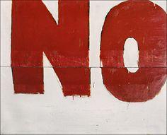 nowavemusic:  Mario Schifano, NO (1960)