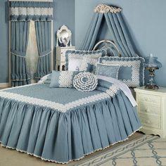 Reminisce Crochet Bedspread Bedding
