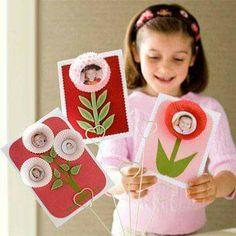 Muffinform Blume Kinder basteln