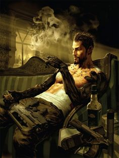 The super sexy Adam Jensen