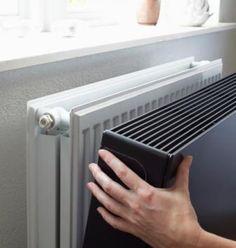 U klikt eenvoudig de Sentimo op uw radiator.