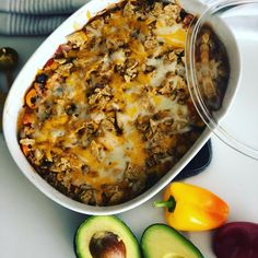 Oh She Glows Crowd-Pleasing Tex-Mex Casserole – The Friendly Edit Going Vegetarian, Vegetarian Recipes Dinner, Veggie Recipes, Lunch Recipes, Dinner Recipes, Healthy Recipes, Dinner Ideas, Tex Mex, Easy Tailgate Food