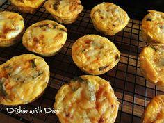 Breakfast Muffins - Low Carb/Low Fat    /     Dishin with Didi