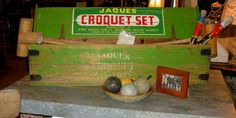 Vintage/Antique John Jaques Croquet Set