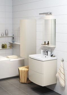 mobilier baie modern Bathroom Furniture, Furniture Sets, Malaga, Home Renovation, Toilet, Bathtub, Interior Design, House, Modern