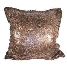METAL bronze cushion <3 www.ByMalou.no