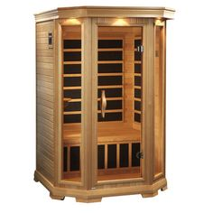 Dynamic Infrared Luxury 2 Person Carbon FAR Infrared Dry Sauna