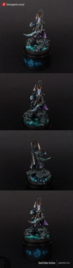 CoolMiniOrNot - Dark Eldar Archon by fantasygames.com.pl