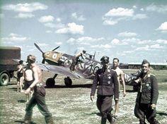 Messerschmitt Bf 109E-7, III./JG 77, Belgrad Semlin airfield, Yugoslavia, May, 1941