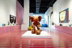 This Is Not A Toy Exhibition by Blok Design, via Behance